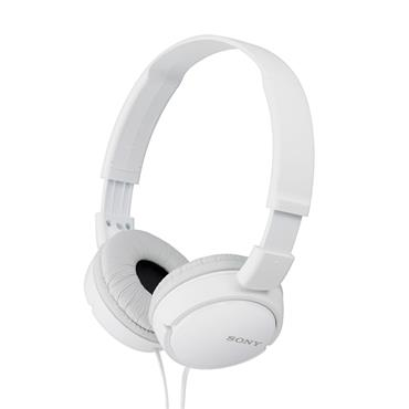 Sony Wired Portable Foldable Headphones - White | MDRZX110WAE