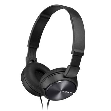 Sony Compact Folding Headphones Black | MDRZX310APBCE7