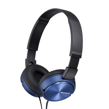 Sony Compact Folding Headphones Blue | MDRZX310APLCE7
