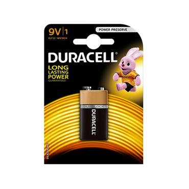 DURACELL PLUS POWER 9V BATTERY (SMOKE ALARM BATTERY) | 1008-10