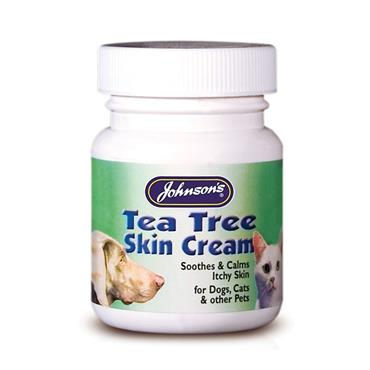 Johnson's Antiseptic Tea Tree Skin Cream 50g for Dogs and Cats | JJ0218