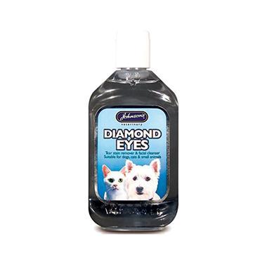 Johnsons Dog & Cat Diamond Eyes Tear Stain Remover 125ml | JJ0362