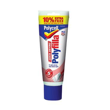 Polyfilla Multi Purpose Quick Drying Filler 330g + 10% Extra