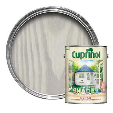 Cuprinol 1 Litre Garden Shades Woodstain - Pale Jasmine | 5092582