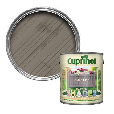 Cuprinol 2.5 Litre Garden Shades Woodstain - Muted Clay | 5122397