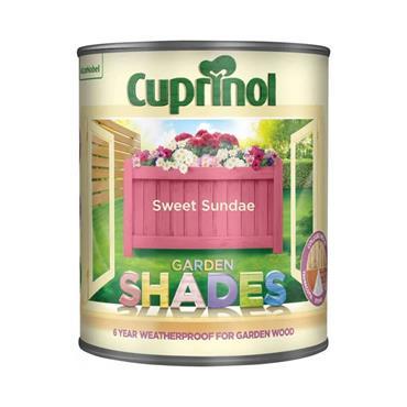 Cuprinol 1 Litre Garden Shades Woodstain - Sweet Sundae | 5159074