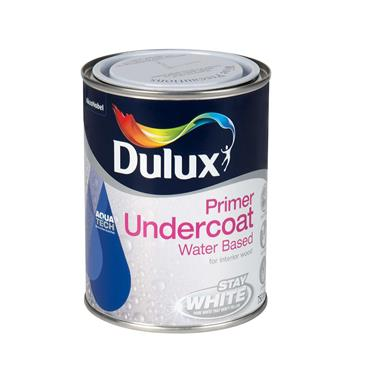 Dulux 750ml Undercoat Water Based - Brillant White | 5164543