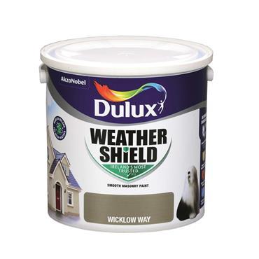 Dulux 2.5 Litre Weathershield Masonary Paint - Wicklow Way | 5269928