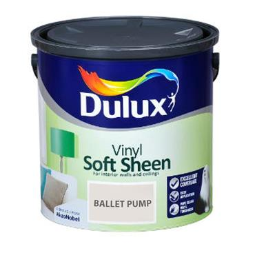 Dulux 2.5 Litre Soft Sheen - Ballet Pump | 5322512