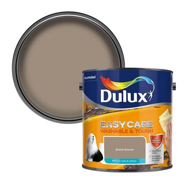 Dulux 2.5 Litre Easycare Washable Matt - Brave Ground | 5270121