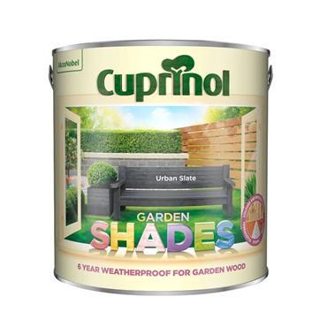 Cuprinol 1 Litre Garden Shades Woodstain - Urban Slate | 5316967