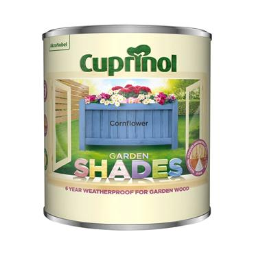 Cuprinol 1 Litre Garden Shades Woodstain - Cornflower | 5316975