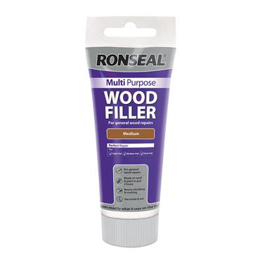 Ronseal Multi Purpose Wood Filler Tube 325g - Medium | 34742