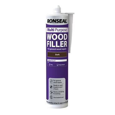 Ronseal Multi Purpose Wood Filler 310ml - Dark | 33368