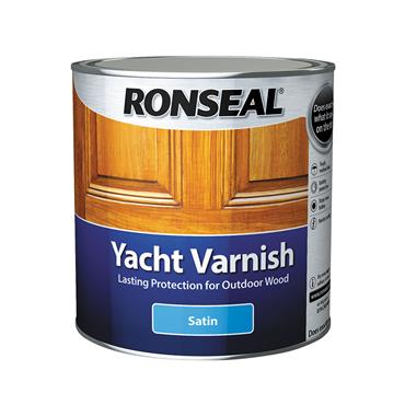 Ronseal 2.5 Litre Yacht Varnish - Clear Satin | 34909