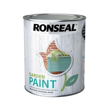 Ronseal 750ml Garden Paint - Sage | 37395