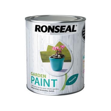 Ronseal 750ml Garden Paint - Peacock | 37417