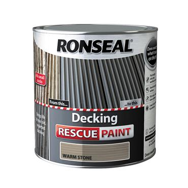 Ronseal 2.5 Litre Decking Rescue Paint - Warm Stone | 37613