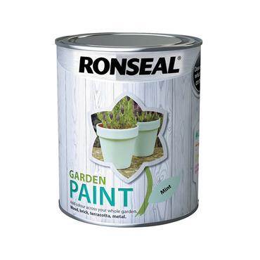 Ronseal 750ml Garden Paint - Mint | 38267