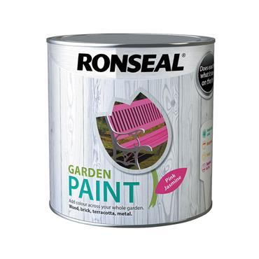Ronseal 2.5 Litre Garden Paint - Jasmine Pink | 38513