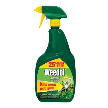 WEEDOL READY TO USE LAWN WEEDKILLER SPRAY 1 LITRE