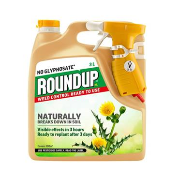 ROUNDUP NATURAL WEEDKILLER 3 LITRE