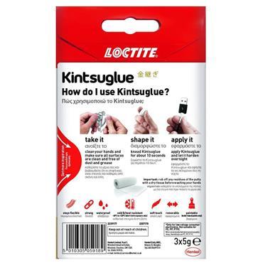 Loctite Kintsuglue Flexible Glue (3 x 5 Gram) - White | 1926-82