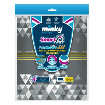 Minky SmartFit PearlActiv Ironing Board Cover 125cm x 45cm | MNK322419