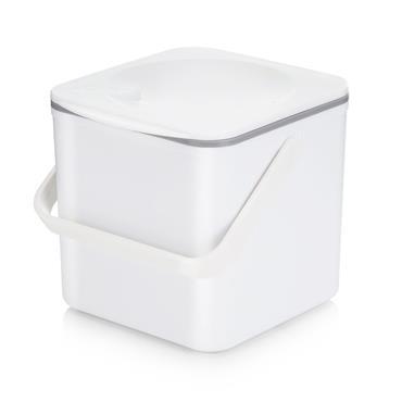 Minky Food Waste Caddy (Compost Bin) - White | MNK322990