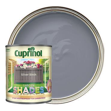 Cuprinol 1 Litre Garden Shades Woodstain - Silver Birch | 5092551