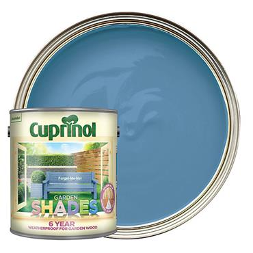 Cuprinol 1 Litre Garden Shades Woodstain - Forget-Me-Not | 5083471