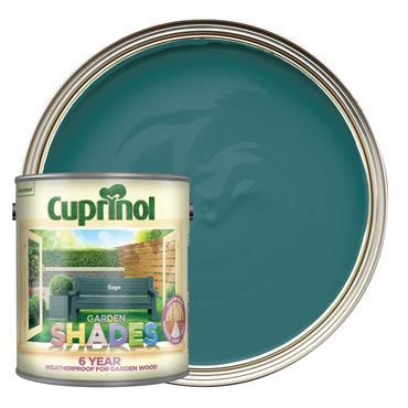 Cuprinol 1 Litre Garden Shades Woodstain - Sage | 5083478