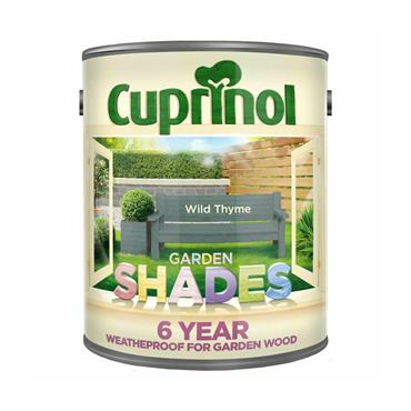 Cuprinol 1 Litre Garden Shades Woodstain - Wild Thyme | 5092592