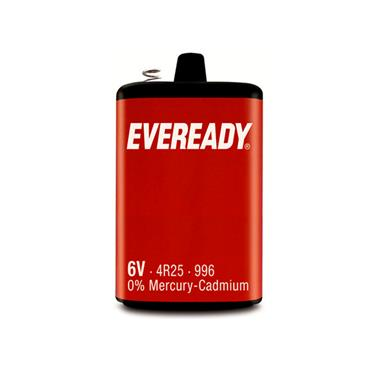 EVEREADY 996 6V 4R25 LAMP BATTERY