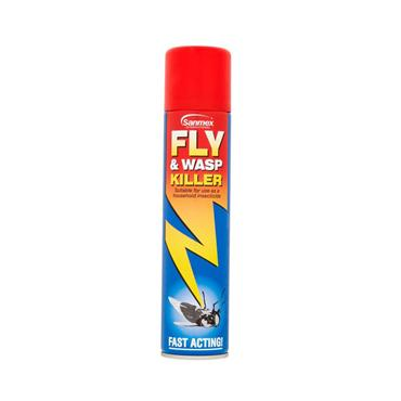 SANMEX FLY & WASP KILLER SPRAY 300ML | SA01