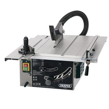 Draper 250mm 1800w Sliding Table Saw 240V with FREE Stand | 99258