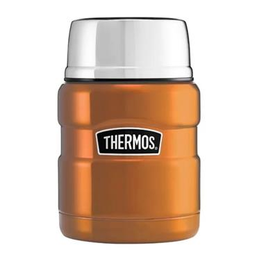 Thermos Stainless King Food Flask with Spoon 470ml - Copper | 170331