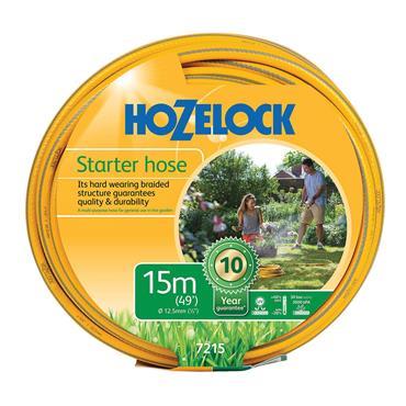 Hozelock 7215 Starter Hose 15m 12.5mm (1/2in) Diameter
