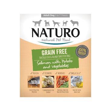 Naturo Adult Grain Free Salmon 400g   NO4008