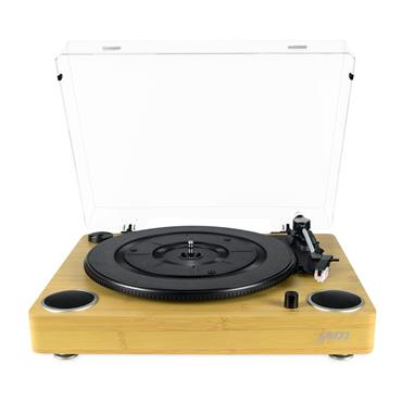Jam Sound Turntable Built In Speakers Vinyl Record Player | HX-TTP200WD-GB