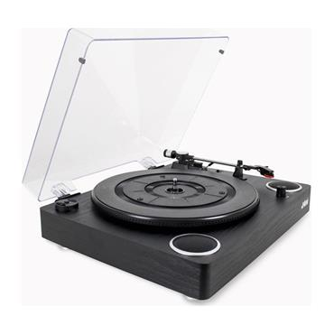 Jam Sound Turntable Built In Speakers Vinyl Record Player | HX-TTP300BWD