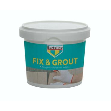 Bartoline 1kg Ready Mixed Waterproof Fix & Grout | 0106-22