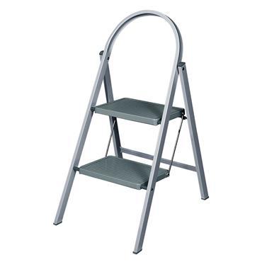 Werner 2 Step Stepstool Ladder - Grey