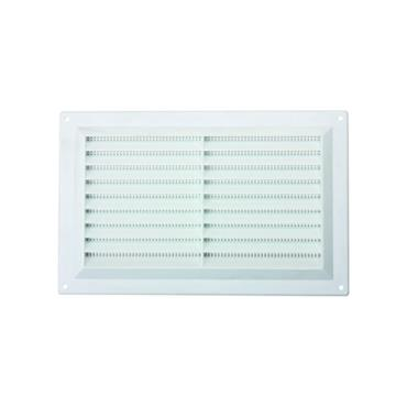 """Louvre Wall Vent 9"""" x 6"""" - White 