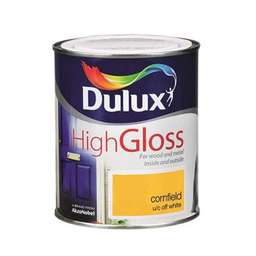 Dulux 750ml High Gloss - Cornfield   5083966