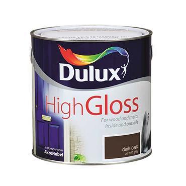 Dulux 2.5 Litre High Gloss - Dark Oak   5083971