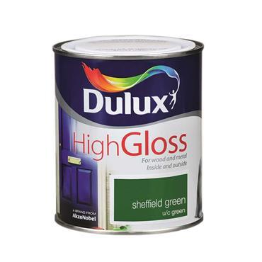 Dulux 750ml High Gloss - Sheffield Green | 5083964
