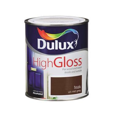 Dulux 750ml High Gloss - Teak | 5083970