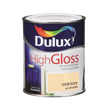 Dulux 750ml High Gloss - Coral Ivory | 5083978