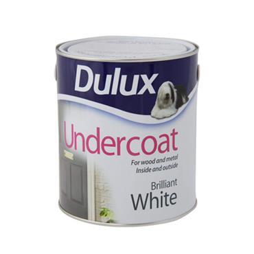 Dulux 1 Litre Undercoat - White | 5084411